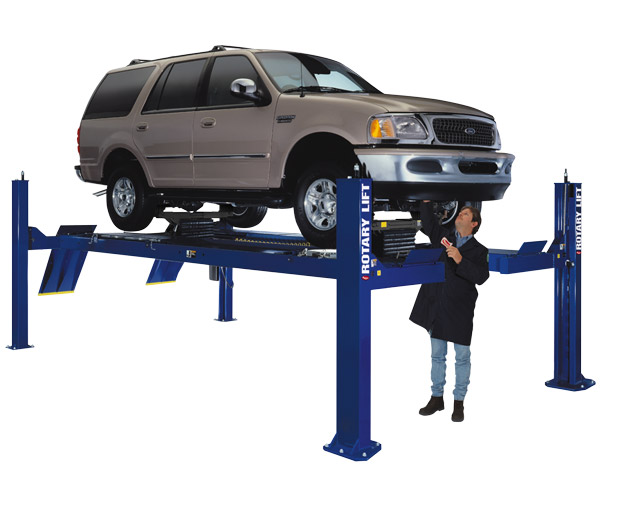 Globe In Ground Car Lift : Rotary lifts rl bangle sons automotive lifting equipment